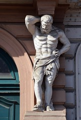 Prager Fassadendetails - 30 (fotomänni) Tags: prag praha prague kunst art reisefotografie statue skulpturen skulptur sculpture manfredweis