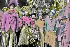 zulu 20's 2 (trudeau) Tags: carnival carnaval new orleans benevolent society coconuts blackface facepaint derby historic 1920s africanamericans