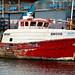 Well-used trawler