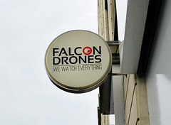 Falcon Drone Design (ismailrajib) Tags: brand branding britain building business cafe circle closeup coffeeshop commercial copyspace design england english europe european exterior frame identity industrial logo mockup name outdoor restaurant round rounded shape shop sign signage signboard store street uk wall