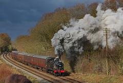 47406 (gareth46233) Tags: 47406 jinty gcr great cental railway kinchley lane clag smoke