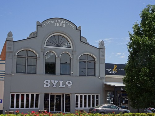 Forbes. It was very unsual in 1892 for an Australian country town to have a shopping arcade. This one was built in 1892.