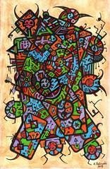 Ink-190315 (darksaga66) Tags: drawing inkdrawing sketch doodle art myart