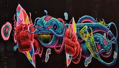 Deep Sea Nightmare (gerard eder) Tags: world travel reise viajes europa europe españa spain spanien valencia elcarmen graffiti art arte street streetlife streetart city ciudades cityscape cityview outdoor