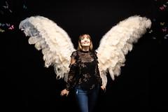 Angel Wings (Robrobrobert123) Tags: nikond750 sigma art wings angel beautifulwoman model smile portrait photography sigma35mm14art
