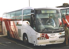 Bus Eireann SI31 (99D4090). (Fred Dean Jnr) Tags: buseireann si31 99d4090 limerickbusstation june1999 s356set buseireannroute12 scania l94 irizar century