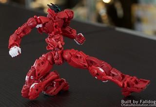 HiRM Astray Red Frame Gundam 7 by Judson Weinsheimer