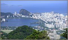 Rio de Janeiro (o.dirce) Tags: riodejaneiro brasil cidade natureza predios lagoa mar odirce