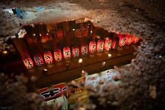 街 (fumi*23) Tags: ilce7rm3 sony street samyang 24mm samyangaf24mmf28fe lantern osaka japan night a7r3 alley reflection ランタン 提灯 大阪 鶴橋 water 街