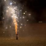 Silvester-Feuerwerk kurz vor dem Erlöschen thumbnail