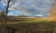 IMG_0142 (Dan Correia) Tags: amherst clouds shadows barn panorama iphone 15fav topv111 vour