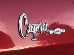 """Caprice Badge (TheMightyEye) Tags: """"carshow"""" automobile auto 1960s vehicle themightyeye galaxie emblem badge logo vintage retro car chevy"""