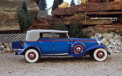 1932 Cadillac V-16 452B All-Weather Phaeton (JCarnutz) Tags: 124scale diecast franklinmint 1932 cadillac c16 phaeton