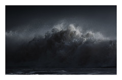 Forces of Nature (Vemsteroo) Tags: sea seascaoe water waterscape wave waves intense storm epic drama weather stormy coast seaside tide tidal light wales southwales gower threecliffsbay sand spindrift canon 7d mkii 100400mm outdoors travel abstract