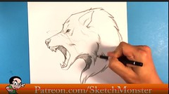 wolf-werewolf-halloween-rawr-london-thumbnail-easy-things-to-draw-drawings (omega_body) Tags: art drawing lesson tutorial easy things draw drawings wolf werewolf lykan lykin london scary halloween