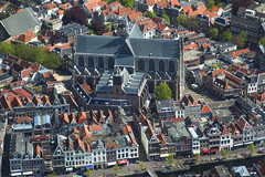 Happy Sunday ! / Hooglandse kerk (Hoogland church) in Leiden, Netherlands (Frans.Sellies) Tags: img5827 leiden netherlands nederland aerial