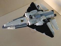 Lego Jet Fighter AFJ-S4 Arkangel (9) (Parm Brick) Tags: lego legojetfighter stealthjet military aviation militaryaviation moc mod afol legobrick vehicle minifigure pilot jet fighter stealth modern warfare battlefield air combat aircraft