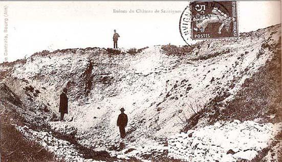 Ruines du château de Sanvignes