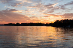 sunsets over lake norman (Ginny Williams Photography) Tags: lakenorman sunset sun water lake sunsets landscapes landscape clouds color sky skycolor lakenormanphotography lakenormanliving lakenormannorthcarolina northcarolinaphotographer northcarolina nature november fall reflection colorful