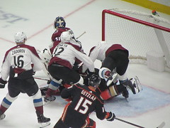 IMG_5081 (Dinur) Tags: hockey icehockey nhl nationalhockeyleague avalanche avs coloradoavalanche ducks anaheimducks