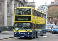 Dublin Bus AV192 (01D10192). (Fred Dean Jnr) Tags: april2005 dublin dublinbus busathacliath dublinbusyellowbluelivery volvo b7tl alexander alx400 dublinbusroute39 av192 01d10192 collegegreendublin fb51jfy pboro