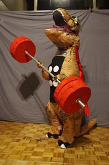 NWC - 0628 (Photography by J Krolak) Tags: nw41 norwescon41 costume cosplay masquerade trex mightyroar