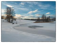 Nordbytjernet 9. desember 2018 #1 (Krogen) Tags: norge norway norwegen akershus romerike ullensaker nordbytjernet landscape landskap vinter winter krogen panasoniclumixgx7