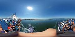 Warnemünde, Fähre 360 Grad (www.nbfotos.de) Tags: warnemünde rostock ostsee balticsea strand beach fähre 360 360gradfoto theta360 ricohthetas