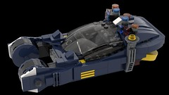 LEGO - 1982 Blade Runner Spinner (MOMAtteo79) Tags: lego bladerunner spinner 1982 deckard gaff moc