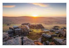 Great Staple Tor Sunrise (Rich Walker Photography) Tags: dartmoor devon landscape landscapes landscapephotography tor sunrise sky cloud sun canon england efs1585mmisusm eos eos80d