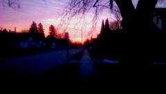 Street at sunrise! (Maenette1) Tags: sunrise street morning neighborhood menominee uppermichigan flicker365 allthingsmichigan absolutemichigan projectmichigan