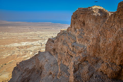 Masada National Park - Judaea Desert Masada Israel (mbell1975) Tags: 2018 southerndistrict israel il masada national park judaea desert middleeast middle east west bank westbank mount mountain plateau dead sea river jordan water lake pond salt flats