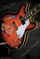 Epiphone (PhillipLuisPhotography) Tags: guitars epiphone rock instument stylish electric beatles