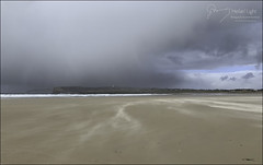 76 - March Squall (North Light) Tags: coast beach bay weather sand rain squall dunnetbay caithness scotland