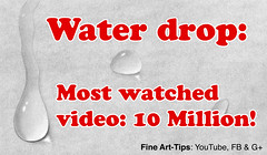 How to Draw a Water drop - a 10 Million Views Video! (fineart-tips) Tags: art drawing finearttips pencil waterdrop 10millionviews tutorial artistleonardo leonardopereznieto patreon tutto3