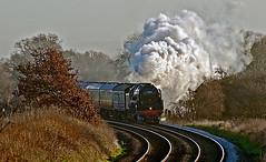 arrival (midcheshireman) Tags: steam train locomotive mainline cheshire 70000 britannia