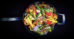 Spiced up (sowanapple) Tags: steamed healthy dinnerplans food a7riii foodcoma veggies spices