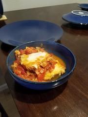 Shakshuka! (petite guerrière rouge) Tags: cookingathome food cooking shakshuka breakfast