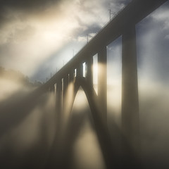 Ponteulla (Noel F.) Tags: sony a7r a7rii ii fe 24105 ponteulla gundian galiza galicia neboa fog mist mencer sunrise