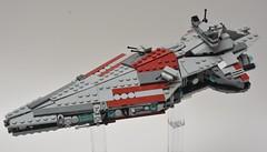 Imperor III, vue de dessus (Pierre MiniBricks) Tags: pierre minibricks lego star wars mini moc creation imperial imperor navy clone