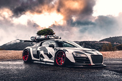 R8 LMS-34 (305FORGED Wheels) Tags: audi r8 lms widebody christmas cfi designs airlift camo winter stance supercar exotic racecar forged wheels