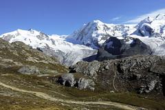 D20091.  From the Gornergratbahn. (Ron Fisher) Tags: schweiz suisse svizzera switzerland kantonwallis valais cantonvallese europa europe zermatt mountain snow glacier gletcher diealpen thealps swissalps alpessuisses schweizeralpen alpisvizzere sony sonyrx100iii sonyrx100m3 compactcamera