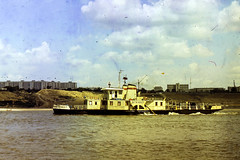 BTK-607 tugboat (tzhskz) Tags: water river tugboat btk607 irtysh ertys 1721