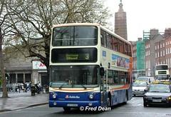 Dublin Bus AV85 (00D40085). (Fred Dean Jnr) Tags: april2005 dublin dublinbus busathacliath dublinbusbluecreamlivery volvo b7tl alexander alx400 dublinbusroute3 av85 00d40085 oconnellstreetdublin dbrook