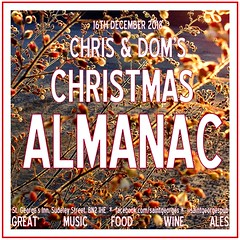 diary #Adjunct: Christmas Almanac, December 16th 2018