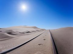 P1107960-LR (carlo) Tags: panasonic g9 dmcg9 africa africanlandscape namibia desertrailway ferroviadeldeserto railway desert deserto
