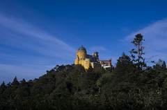A castle in the sky... (Pálacio da Pena, Sintra) (Tormod Dalen) Tags: portugal smcpentax2435 sintra palacio pena travel palaciopena