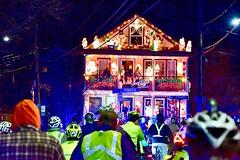 Somerville Illuminations Ride 2018 (BradKellyPhoto) Tags: somerville illuminations holiday christmas decorations houses bike bicycle tour universalhub