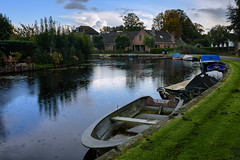 Rain in Abcoude (Julysha) Tags: rain boats abcoude 2017 autumn september angstel thenetherlands reflection d7200 sigma241054art acr