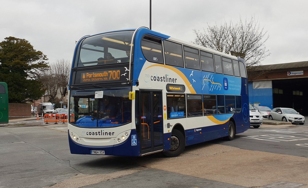 Stagecoach South 15991 YN64 XSV Chichester 31 12 18 Jmupton2000